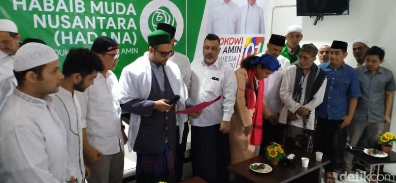 Habib Muda Nusantara Deklarasi Dukung Jokowi-Mar'uf Amin