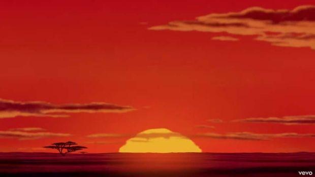 Sebuah adegan pembuka yang mengesankan dari 'The Lion King'.