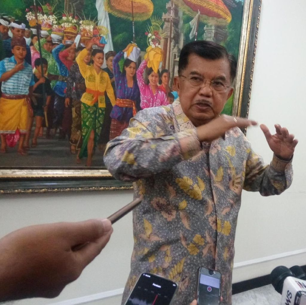 JK Bersyukur Ribut soal Pilpres Hanya di Medsos, Tak Ada Benturan
