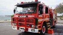 Foto: Beda Nih, Wisata Jadi Pemadam Kebakaran di Australia