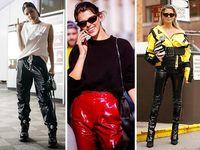 Seperti Hailey Baldwin, Celana Hitam Ini Bisa Bikin Gaya Kamu Mencuri Atensi