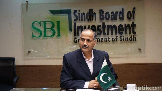 Direktur Projek Sigdh Board of Investment Pakistan, Abdul Azeen Uaqailli