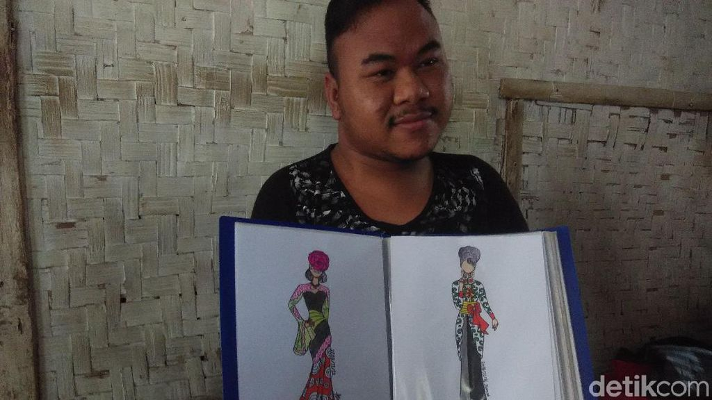 Inspirasi untuk Anak dari Desainaer Difabel Rahmat Hidayat