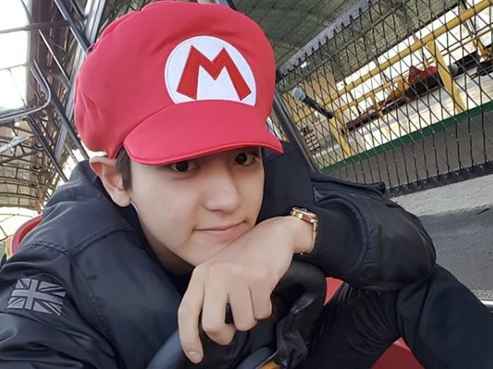 Chanyeol, salah satu member EXO.