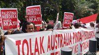 Massa demo di Kedubes Australia