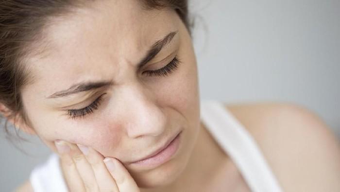 Ilustrasi gigi sensitif. Foto: Istock
