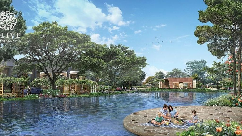 Summarecon Bangun Hunian Samping Danau, DP 10% Bisa Dicicil