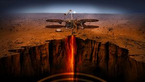 Ini Misteri Planet Mars yang Diteliti Robot InSight