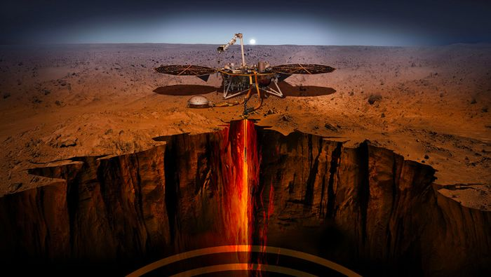 Robot Insight Mendarat di Mars