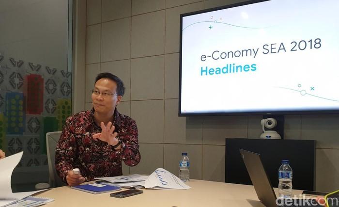 Managing Director Google Indonesia Randy Jusuf. Foto: Adi Fida Rahman/detikINET