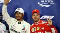 Hamilton dan Vettel Bertukar Helm Usai GP Abu Dhabi