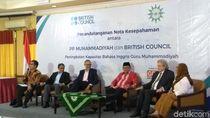 Muhammadiyah-British Council Teken MoU Pelatihan Bahasa untuk Guru