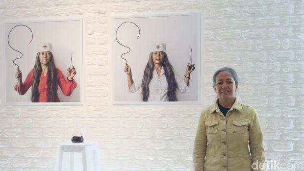 Dicap Seniman 'Ngawur', Arahmaiani Belajar dari Pengalaman ke Mancanegara