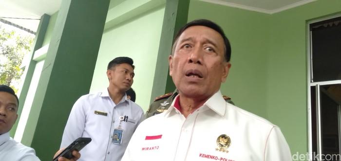 Menko Polhukam Wiranto (Foto: Dony Indra Ramadhan/detikcom)