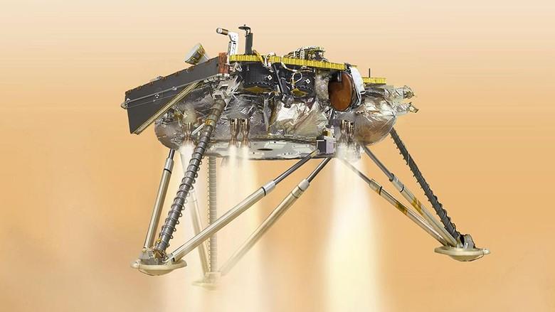 Dramatis! Wahana Robot InSight Berhasil Didaratkan di Mars