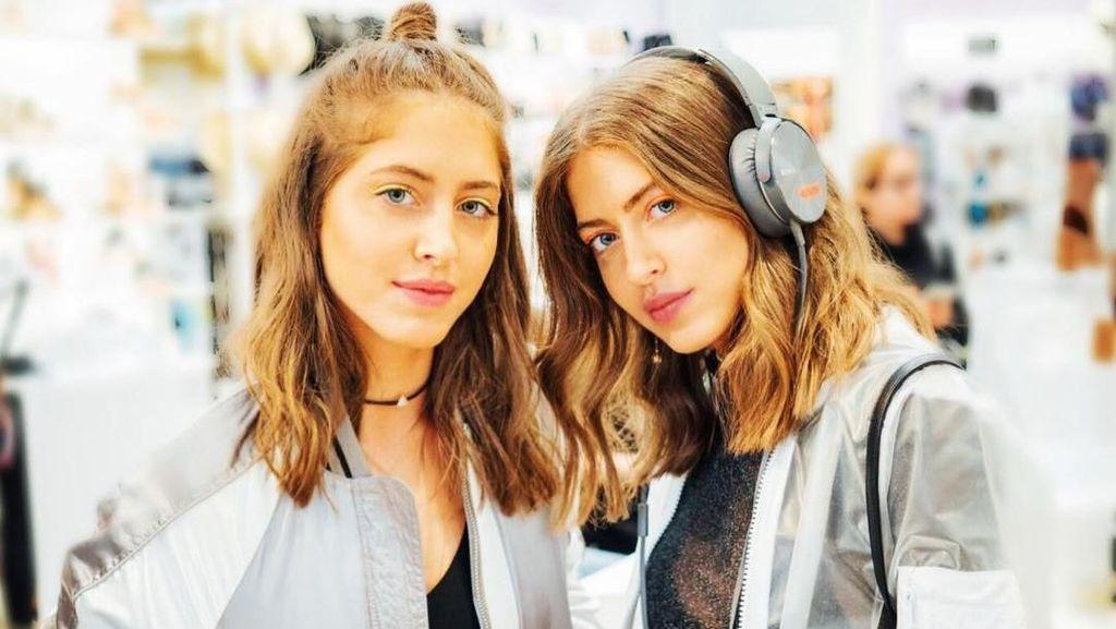 Kepincut Gaya Model dan DJ Kembar Cantik, Putri Konglomerat Arab Saudi