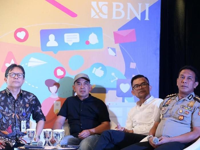 Nukman Luthfie (kedua dari kiri). Foto: Istimewa/BNI