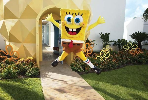 Traveler yang ngefans sama Spongebob pastinya betah menginap di sini (Nickelodeon Hotels & Resorts Punta Cana)