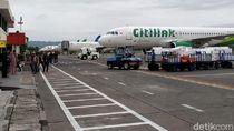 Aspal Landasan Terkikis, Bandara Adisutjipto Tutup Sementara
