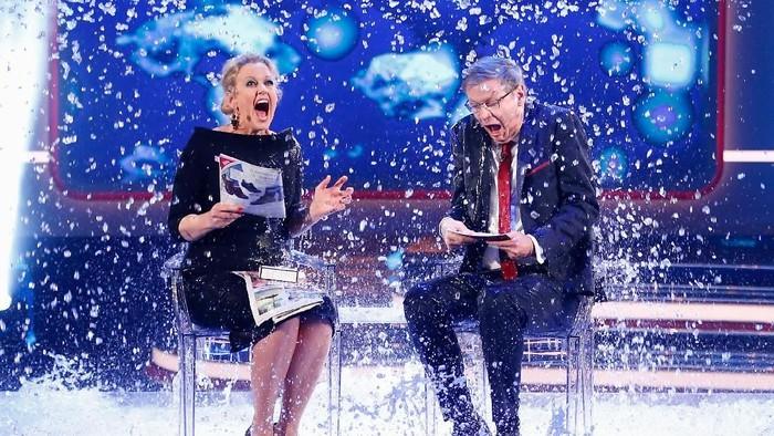 Ice Bucket Challenge meraih kesuksesan untuk menggalang dana dan meningkatkan kepedulian tentang ALS. Foto: Getty Images