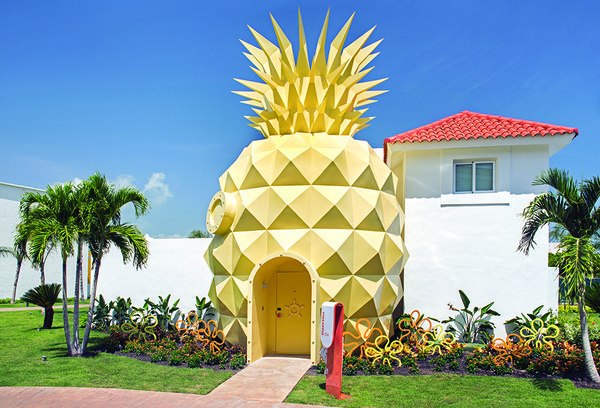 Kalau yang ini adalah vila The Pineapple di Nickelodeon Hotels & Resorts Punta Cana, Republik Dominika (Nickelodeon Hotels & Resorts Punta Cana)
