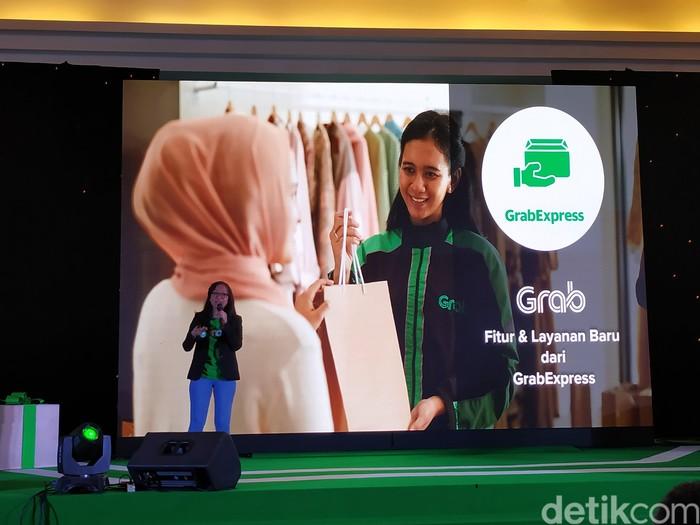 GrabExpress Car dan GrabExpress Nalangin, yang anyar di GrabExpress:  (Foto: Agus Tri Haryanto/detikINET)