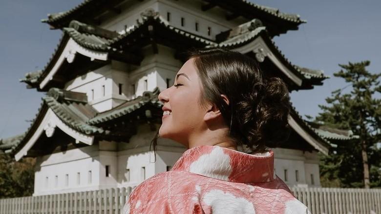 Jessica Mila di Jepang (Instagram/jscmila)