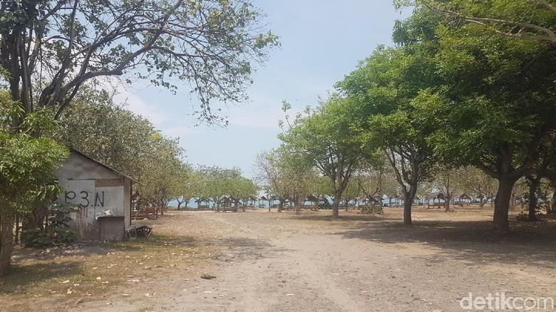 Ilustrasi pantai di Anyer (Bahtiar Rivai/detikTravel)