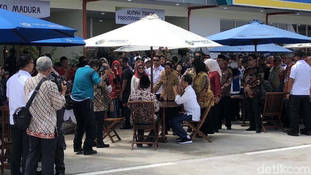 Jokowi Ingin Rest Area di Tol Dipenuhi Produk Lokal
