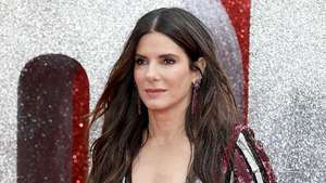 Beauty in Blue Sandra Bullock