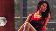 Menggodanya Kourtney Kardashian, Tampil Seksi Sambil Makan Es Krim