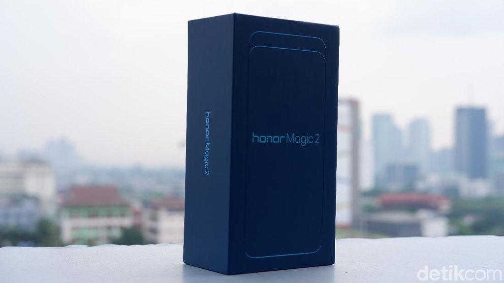 Inilah Honor Magic 2. Foto: Adi Fida Rahman/detikINET