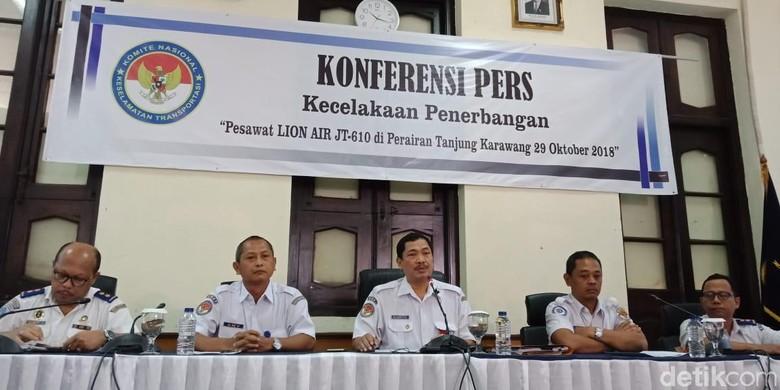 2 Rekomendasi KNKT untuk Lion Air Pascajatuhnya PK-LQP