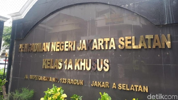 Pengadilan Negeri Jaksel/Audrey Santoso