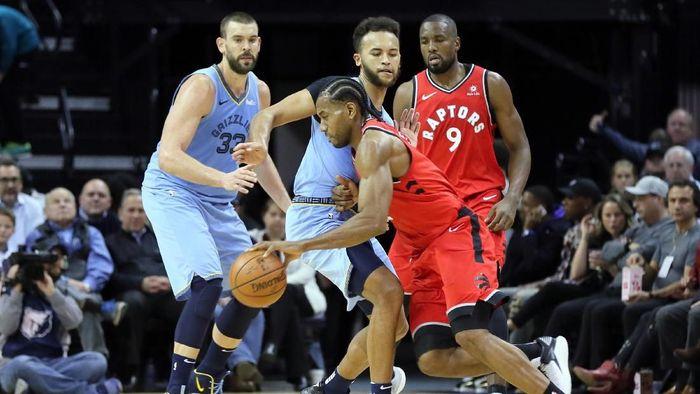 Toronto Raptors masih jadi tim terbaik sejauh ini di NBA (Nelson Chenault-USA TODAY Sports)