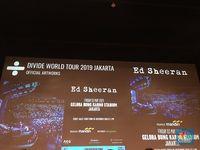Ed Sheeran Konser di Jakarta Mei 2019, Ini Harga Tiketnya
