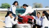Foto: Tempat Latihan Pilot Khusus Perempuan di India