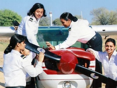 Tempat Pelatihan Pertama Pilot Perempuan di India