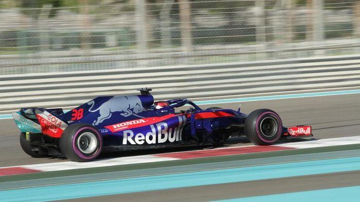 Sean Gelael ikut tes F1 Abu Dhabi bareng Toro Rosso (Scuderia Toro Rosso)