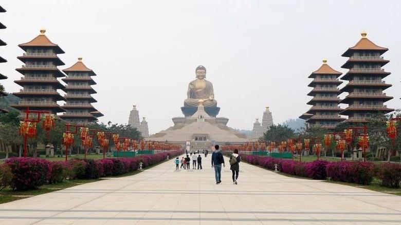 Fo Guan Shan Buddha Monastery di Kaohsiung, Taiwan