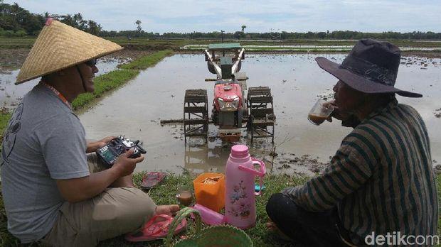 Ada Traktor Siluman Karya Warga Kebumen