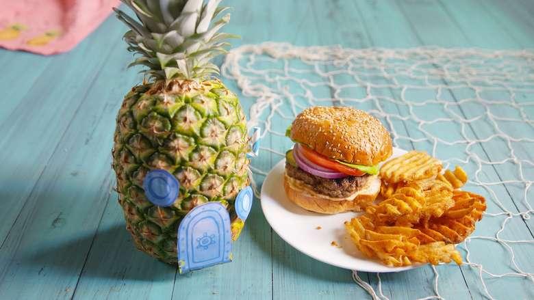 Mengenang Karya Stephen Hillenburg Lewat Kue Tema Spongebob Squarepants