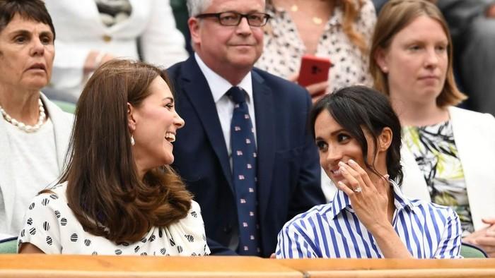 Kate Middleton dan Meghan Markle. Foto: Getty Images