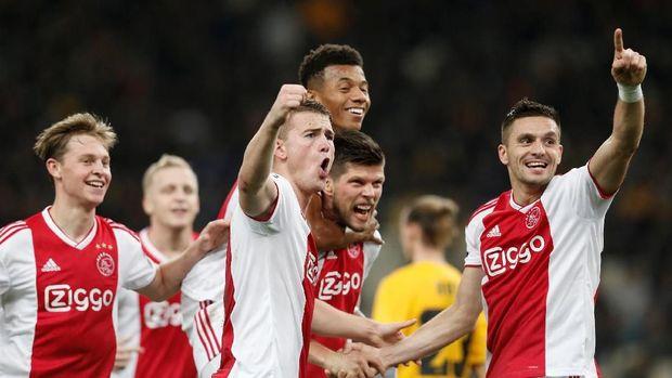 Ajax siap tampil dengan kekuatan penuh melawan Madrd.