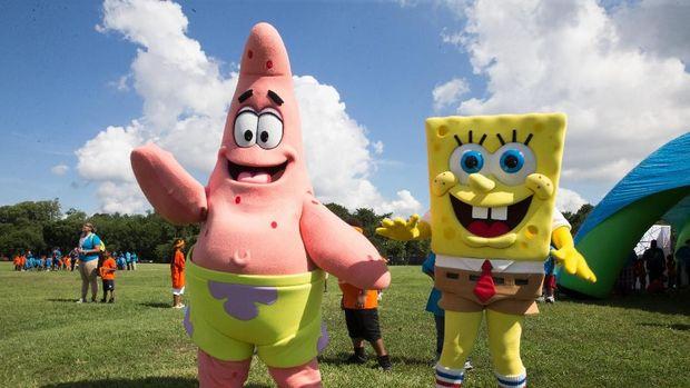 SpongeBob dan Patrick.