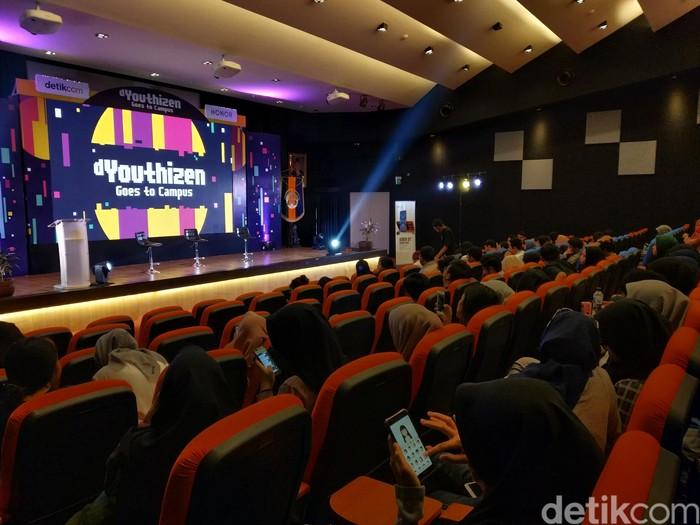 Suasana dYouthizen di kampus UI. Foto: Imron Rosyadi/detikinet