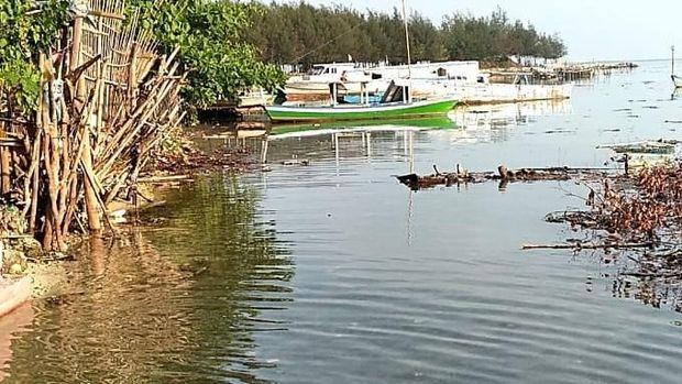 Perairan Pulau Pari pasca dibersihkan