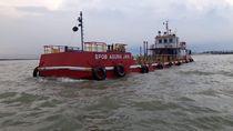 Kapal Angkut 300 Ton Solar Diamankan di Perairan Surabaya