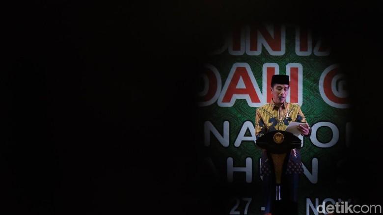 Tutup Festival Qasidah, Jokowi Nyanyi Lagu Sabyan Gambus