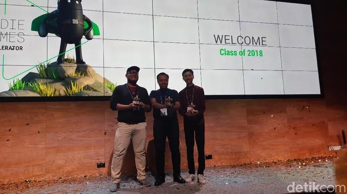 Kisah tentang keikutsertaan Niji Games Google Indie Games Accelerator (Foto: Virgina Maulita Putri/detikINET)